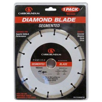 Carborundum Diamond Blade Segment 180mm
