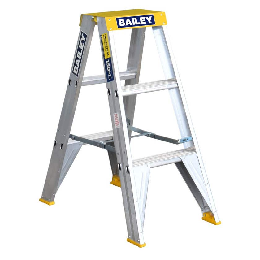 Bailey Pro Double-Sided Ladder Industrial 150kg 0.9m