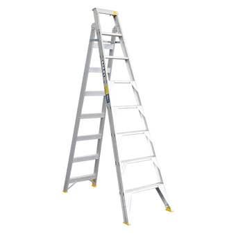 Bailey Pro Dual Purpose Ladder Industrial 150kg 2.4M - 4.4M