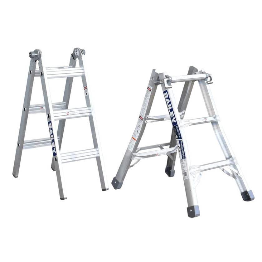 Bailey BXS13 Multipurpose Ladder 1.7m/3.3m 135kg Industrial