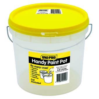 Uni-Pro Handy Paint Pot With Lid 4.6L