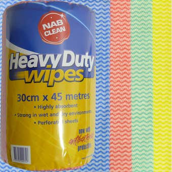 Heavy Duty Wipes 300mm x 45m