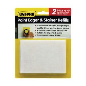 Uni-Pro Paint Edger & Stainer Refill - 2 Pack