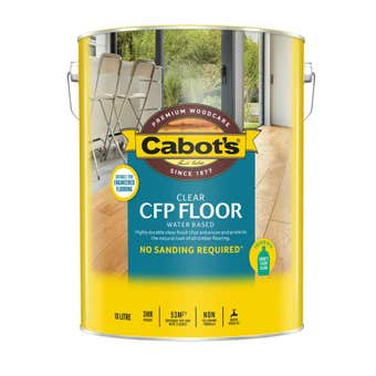 Cabot's CFP Floor Water Based Satin 10L