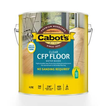 Cabot's CFP Floor Water Based Satin 4L