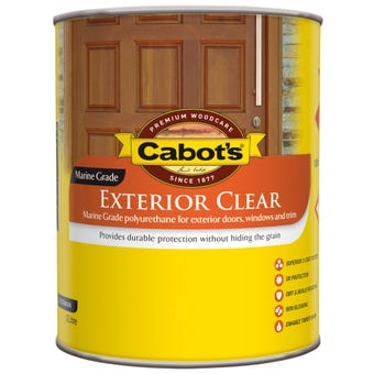 Cabot's Exterior Clear Satin 500ml