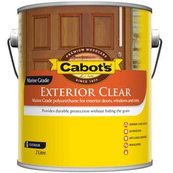 Cabots Exterior Clear Oil 2L