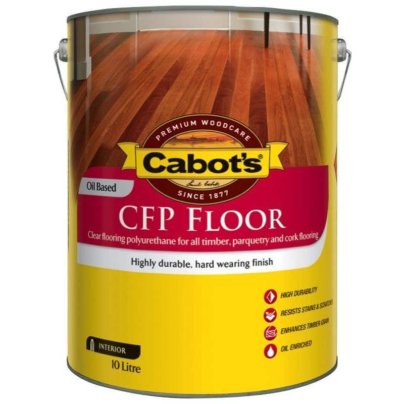 Cabot's CFP Floor Oil Based Gloss 10L
