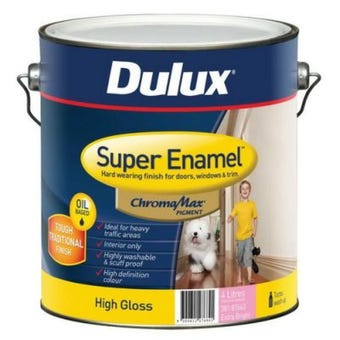 Dulux Super Enamel High Gloss Extra Bright Base 4L