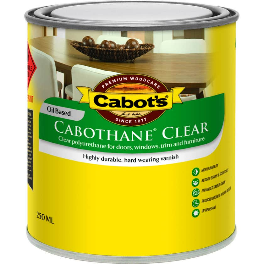 Cabot's Cabothane Oil Based Satin Clear 250ml