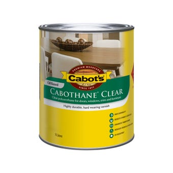 Cabot's Cabothane Clear Oil Based Gloss 1L