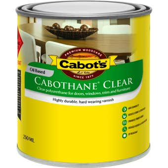 Cabot's Cabothane Oil Based Gloss Clear 250ml