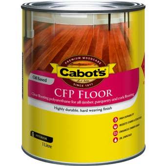 Cabot's CFP Floor Oil Based Gloss 1L