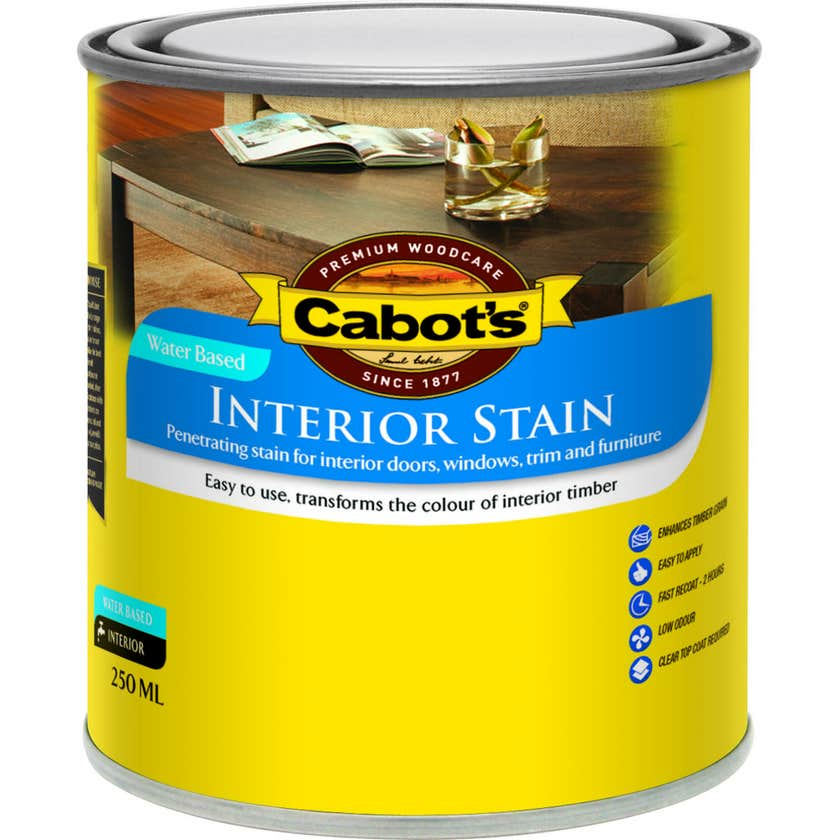 Cabot's Interior Stain Water Based Tint Base 250ml