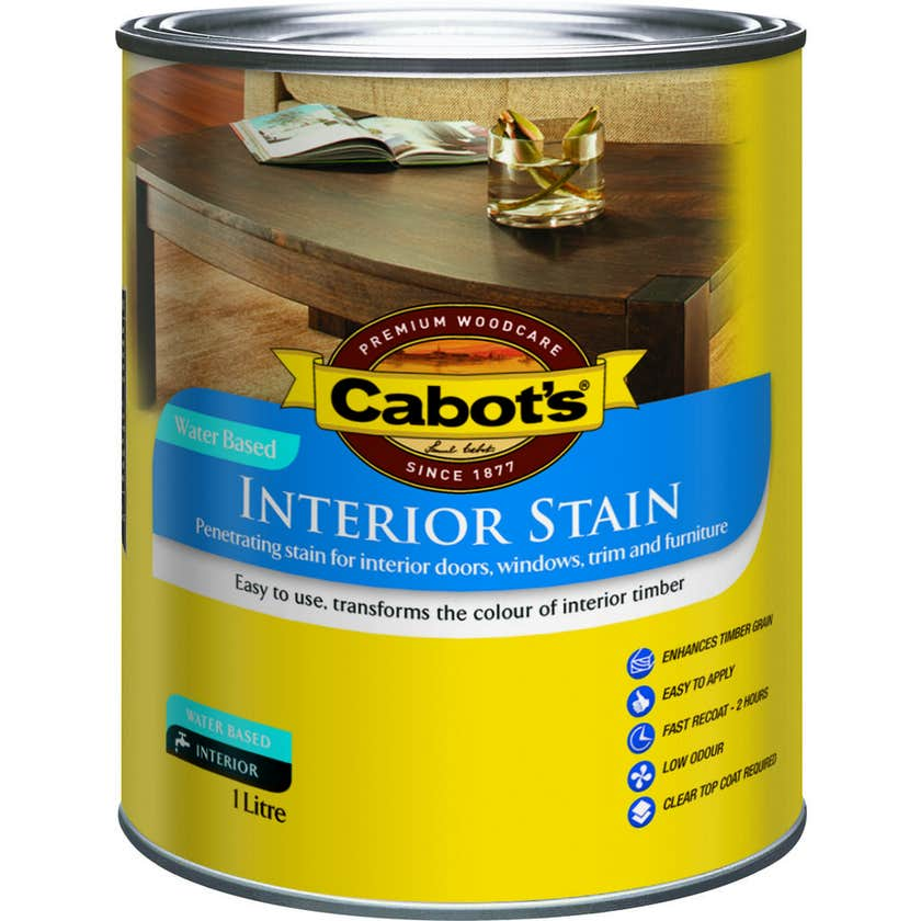 Cabot's Interior Stain Water Based Tint Base 1L
