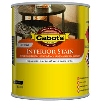 Cabot's Interior Stain Oil Based Walnut 250ml