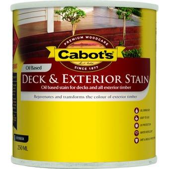 Cabot's Deck & Exterior Stain Oil Based Jarrah 250ml