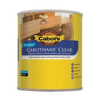Cabot's Cabothane Clear Water Based Gloss 250ml