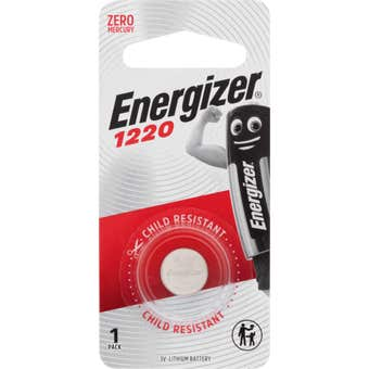 Energizer 1220 Lithium Coin Battery 1 Pack
