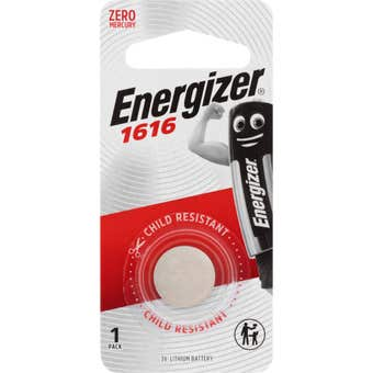 Energizer 1616 Lithium Coin Battery 1 Pack