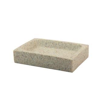 Interbath Soap Dish Square - Sand