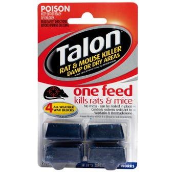 Talon Rat & Mice Kill Wax Block 72g