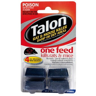 Talon Rat & Mice Kill Wax Block 72g