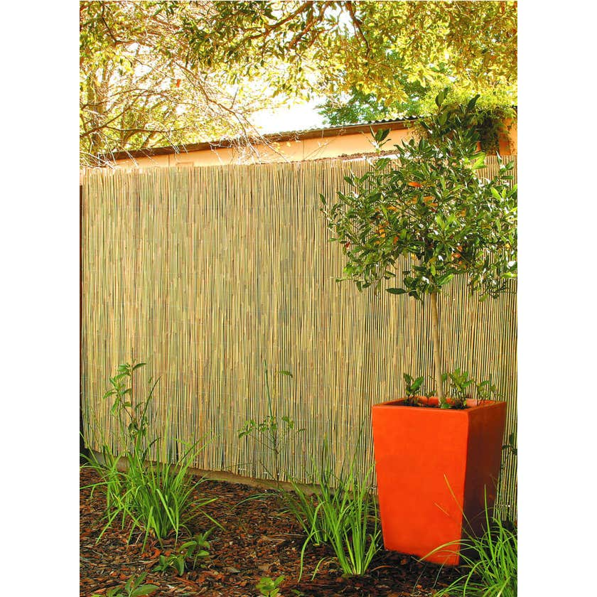 Garden Trend Round Bamboo Screen Fencing 1.8 x 3m