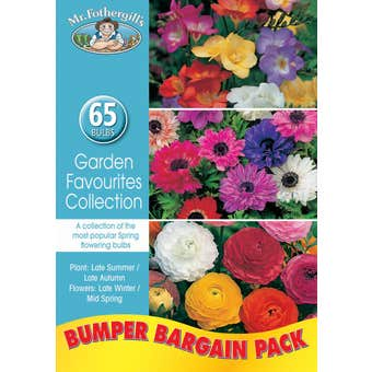 Mr Fothergill's Bulbs Garden Favourites Collection