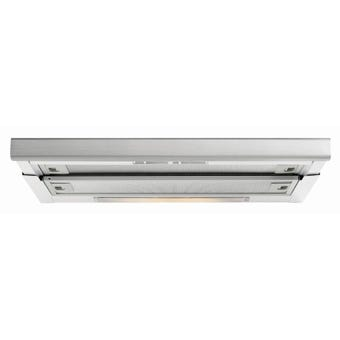 Baumatic Slideout Rangehood 440m3/hr Airflow 600mm