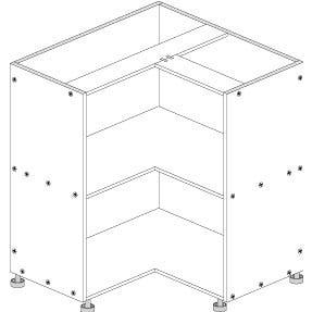 Principal Corner Base Cabinet