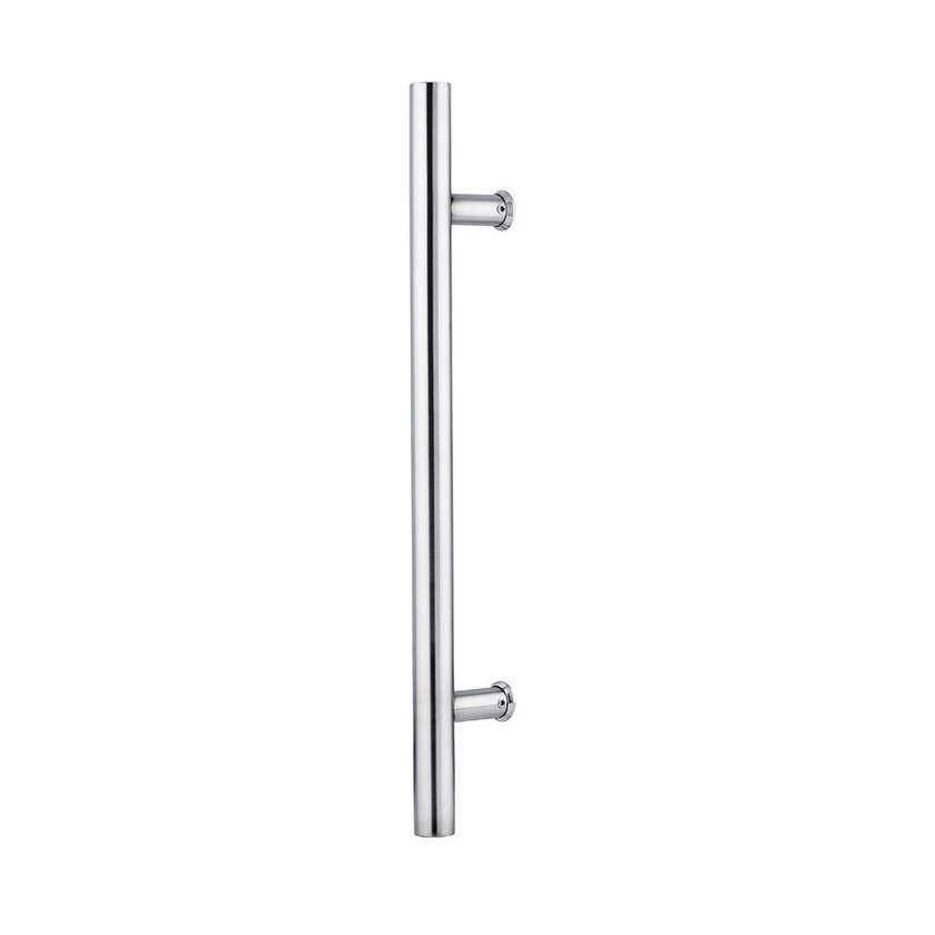 Lane T Pull Handle Round Satin Stainless Steel 450 x 300 x 25mm