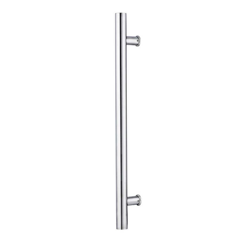 Lane T Pull Handle Round Satin Stainless Steel 600 x 450 x 32mm