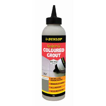 Dunlop Ready-To-Go Coloured Grout Slate Grey 800g