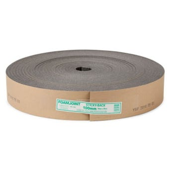 Foamjoint Adhesive Polyethylene Expansion Jointing 100mm x 10mm x 25m