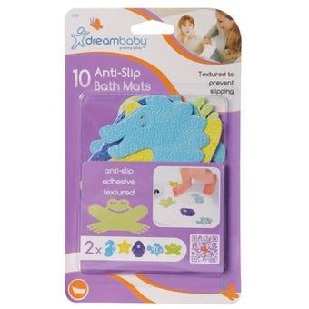 Dreambaby Anti-Slip Bath Mats - 10 Pack