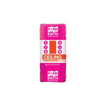 Pink Batts R3.5 Insulation Ceiling Batts 1160 x 430mm - 16 Pack