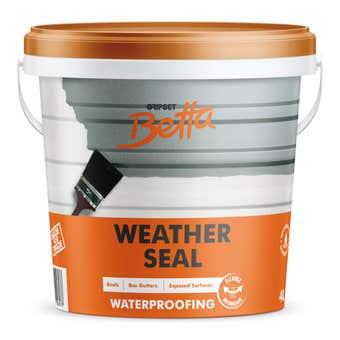 Gripset Betta Weather Seal 4L