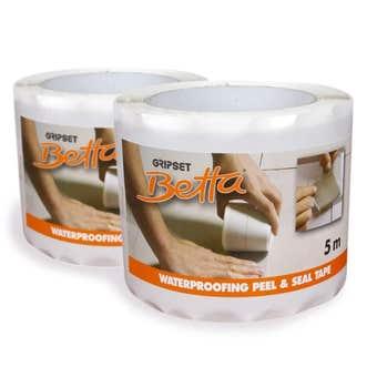 Gripset Betta Waterproofing Detailing Peel and Seal Tape 5m