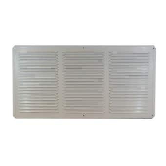 Haron Aluminium Eave Vent White 400 x 200mm - 2 Pack