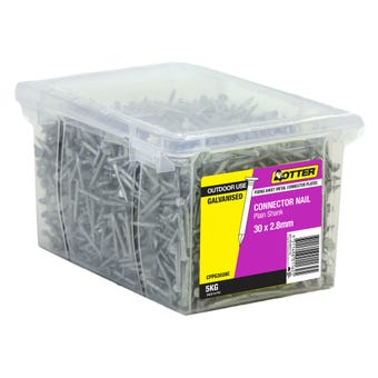 Otter Connector Nail Galvanised 30 x 2.8mm 5kg