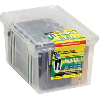 Macsim Window Packers 75mm Mixed - Box of 90