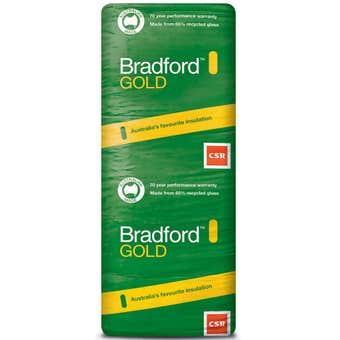 Bradford Gold R3.5 Ceiling Insulation Batts 1160 x 580 x 185mm - 10 Pack