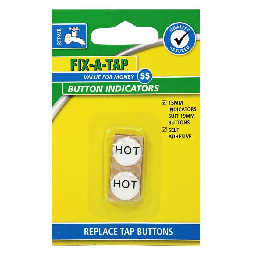 FIX-A-TAP Tap Button Indicators 19mm