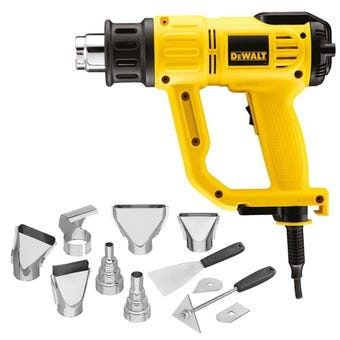 DeWALT 2000W Digital Heat Gun Combo Kit D26414K-XE