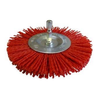 Josco Brush Wheel Nylon 100mm