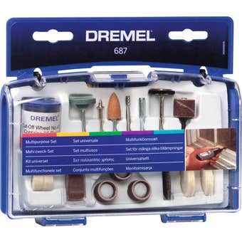 Dremel Mini General Purpose Accessory Set - 52 Piece