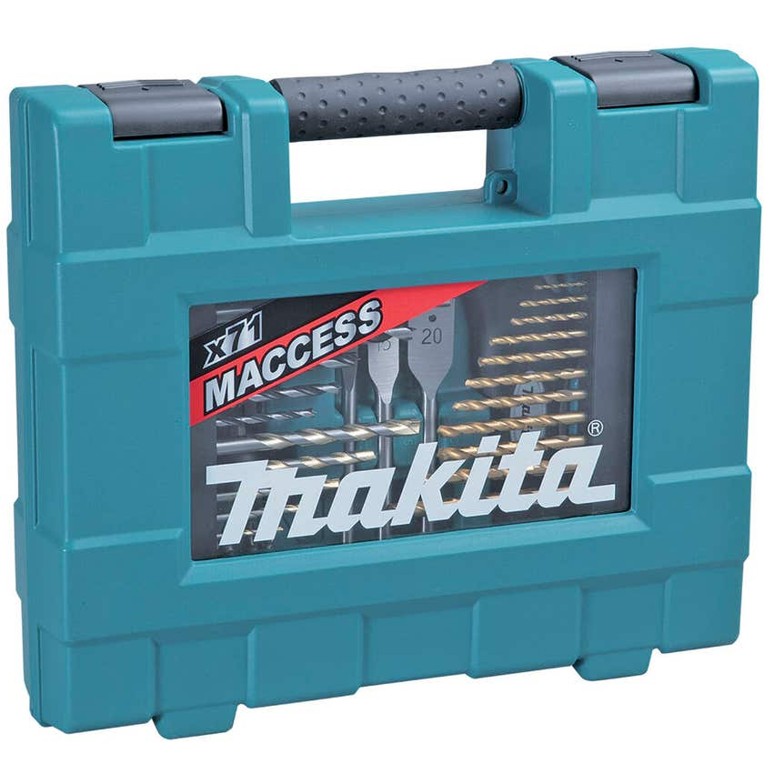 Makita Bit & Hand Tool Metric Kit - 71 Piece