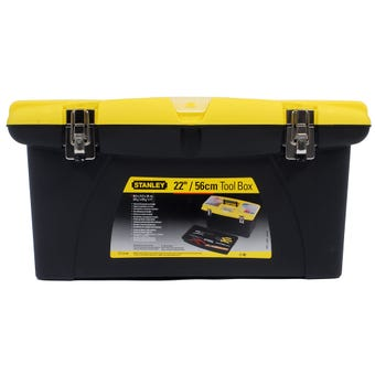 Stanley Jumbo Toolbox With Metal Clips 550mm