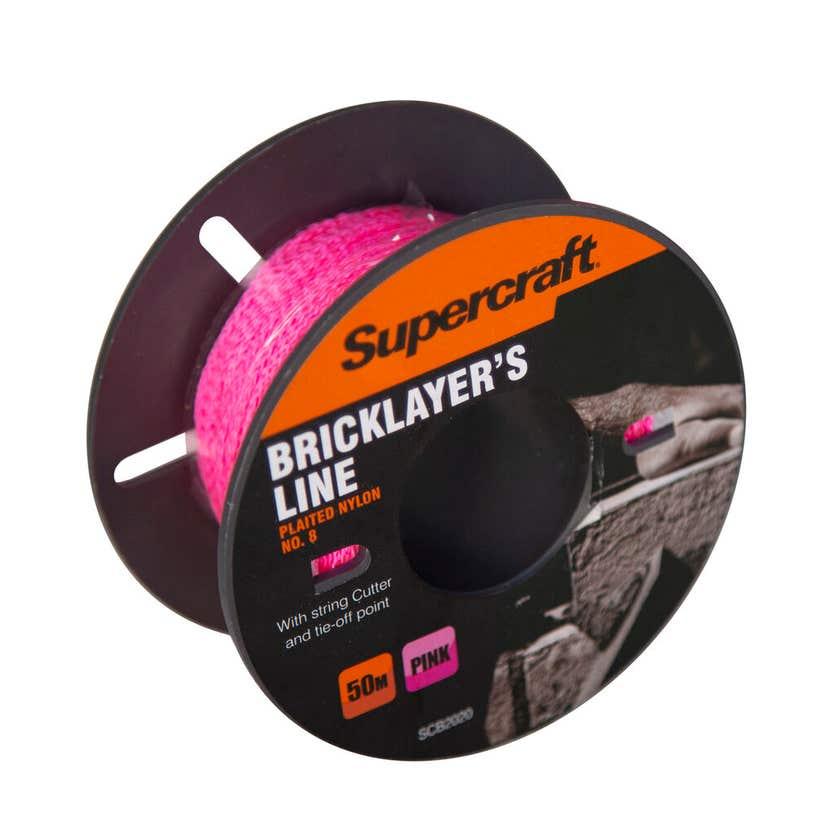 Supercraft Brickline Pink 50m